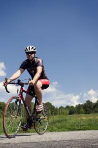 Male Bicyclist