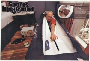 """""""As an athlete the hyperbaric chamber added 8 yrs. to my NFL career"""" - Hines Ward"""