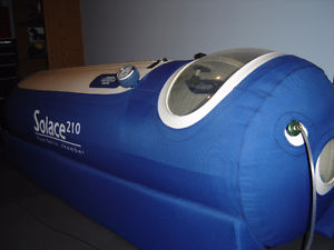 Used Oxyhealth Solace 210 Hyperbaric Chamber